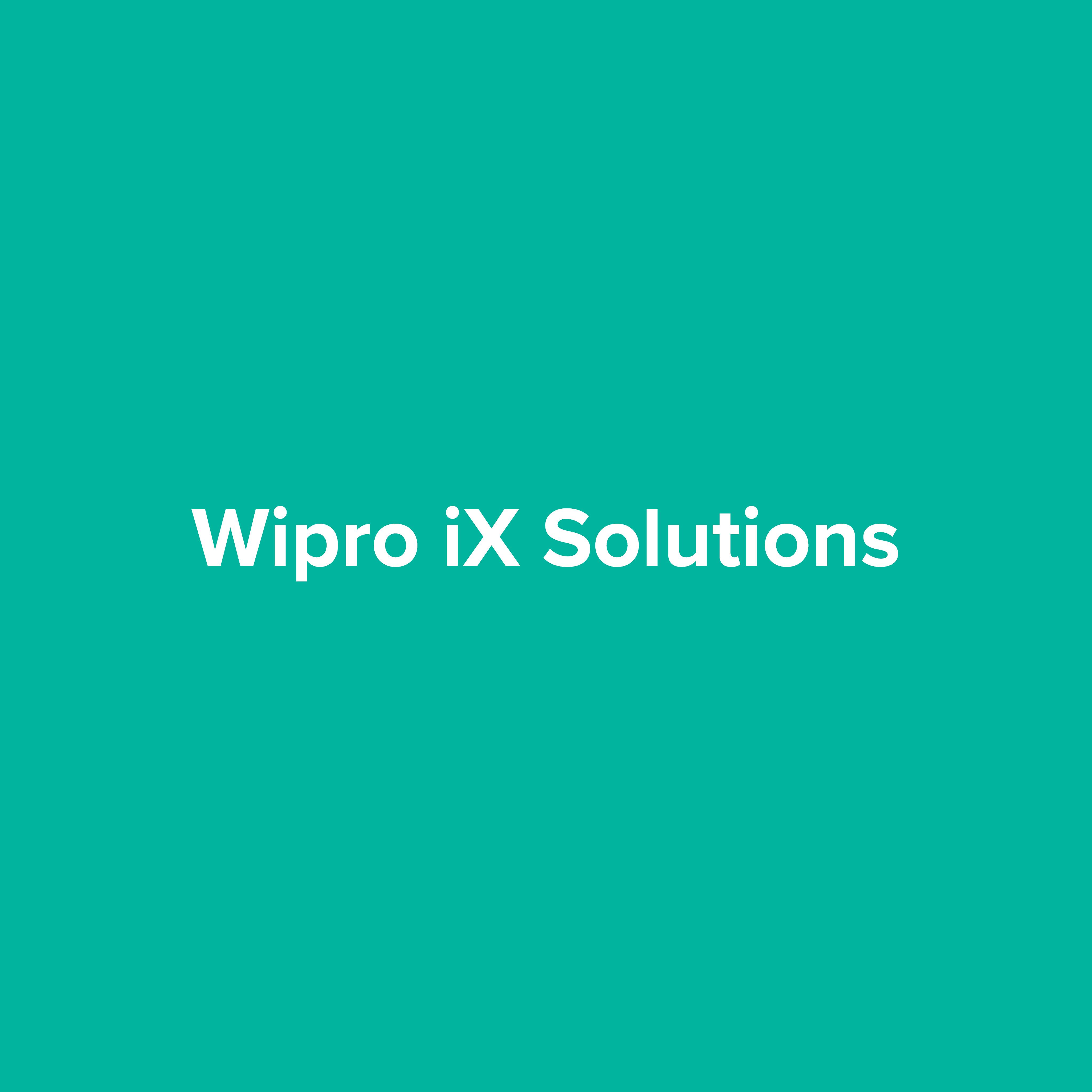 Wipro iX Solutions