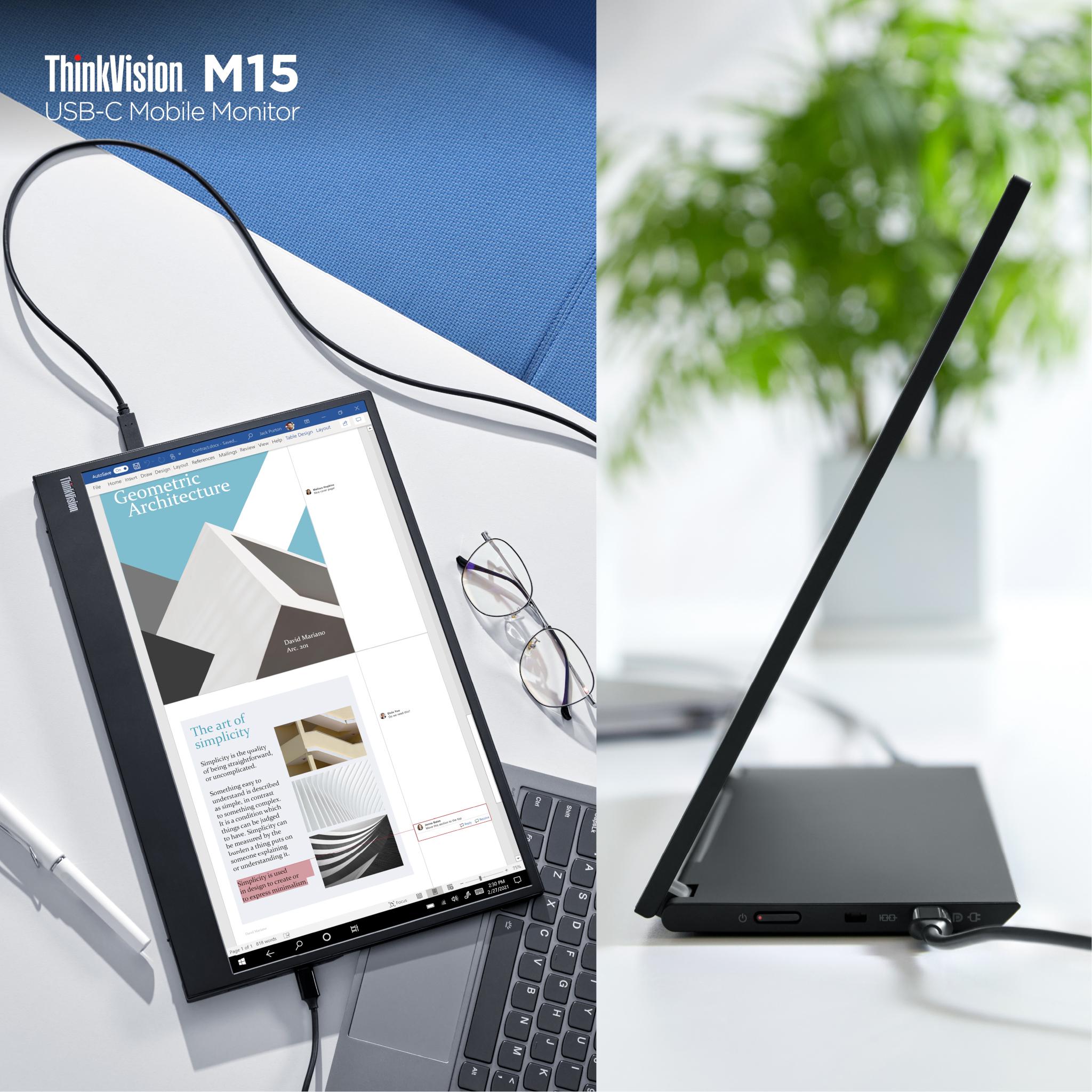 USB-C Mobile Monitors