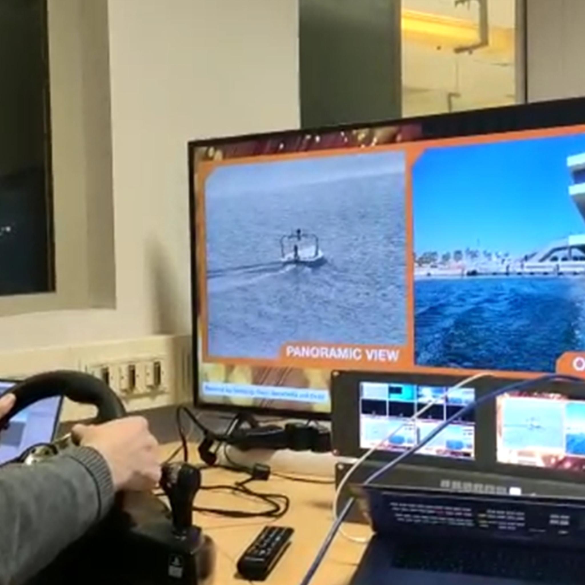 5G Boat drone